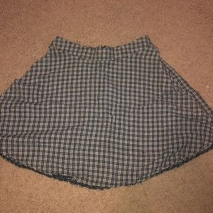 Brandy NWOT plaid skirt